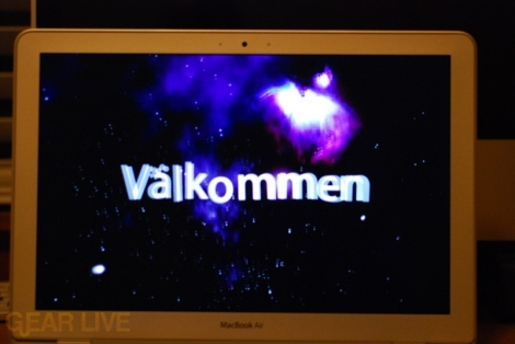 MacBook Air: Valkommen!