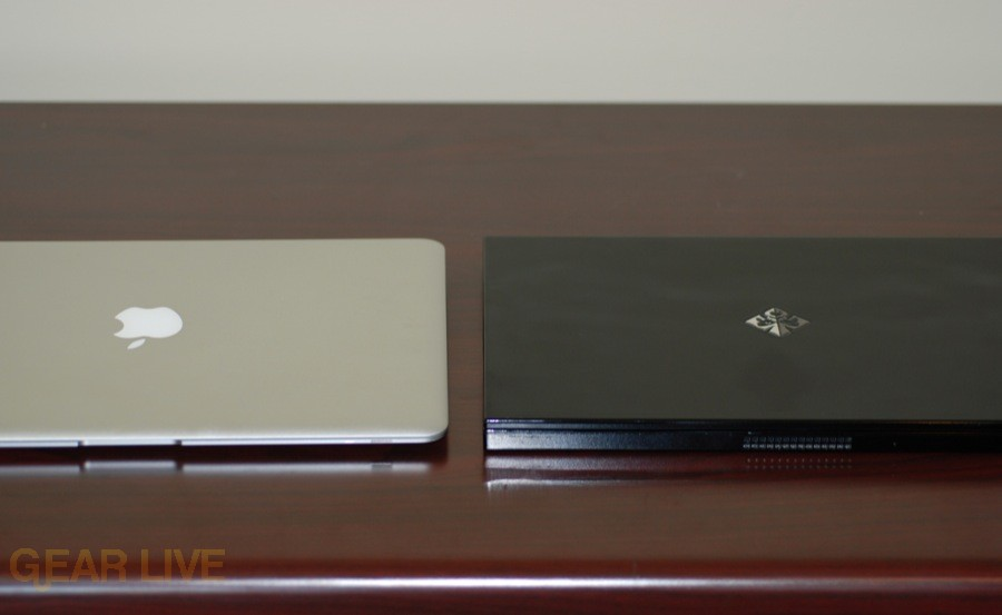 MacBook Air and Voodoo Envy 133