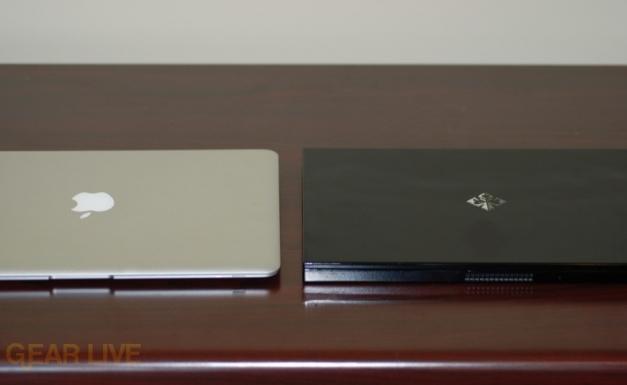MacBook Air and Voodoo Envy 133