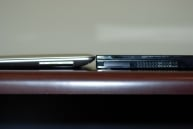 MacBook Air vs. Voodoo Envy 133 thick side