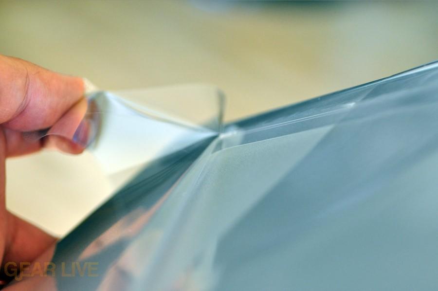 MacBook Pro 2009 peeling plastic