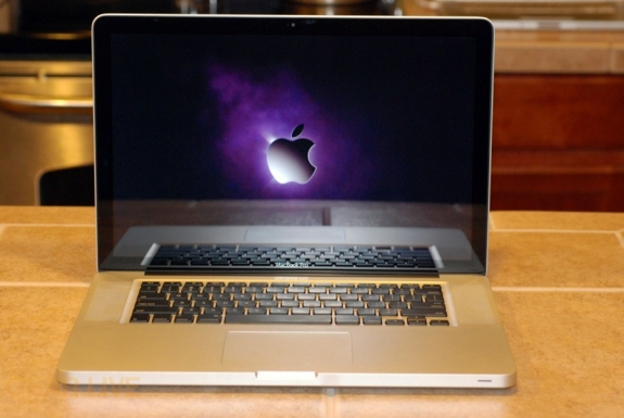 MacBook Pro 2008 powered on