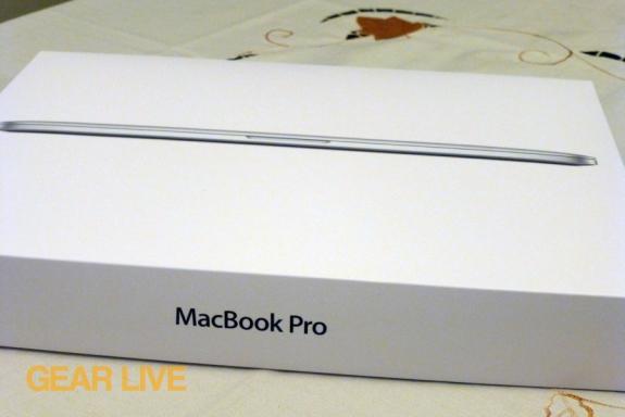 Retina MacBook Pro box