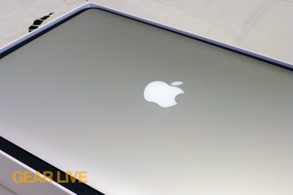 MacBook Pro with Retina display lid