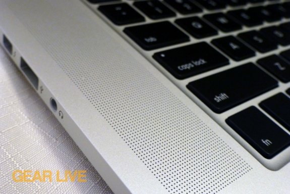 MacBook Pro with Retina display speakers