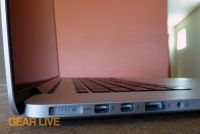 MacBook Pro with Retina display thin profile