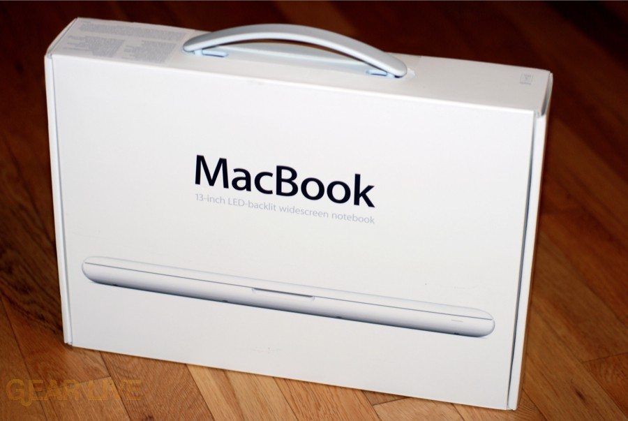 Unibody MacBook box