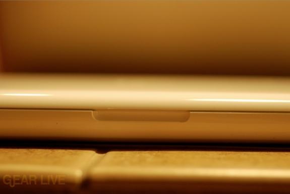 Front of unibody MacBook