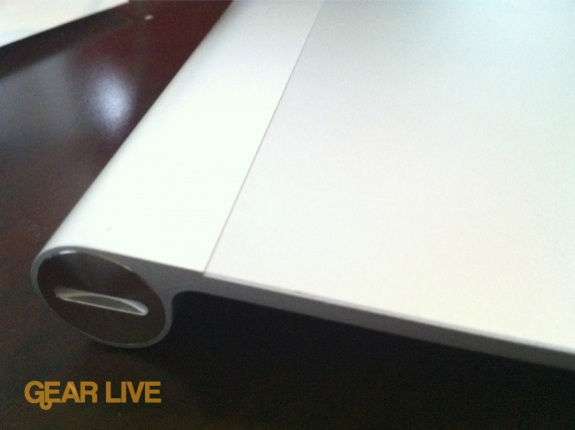 Apple Magic Trackpad side