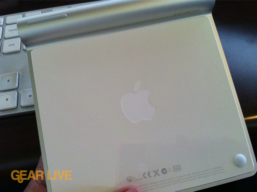 Apple Magic Trackpad back