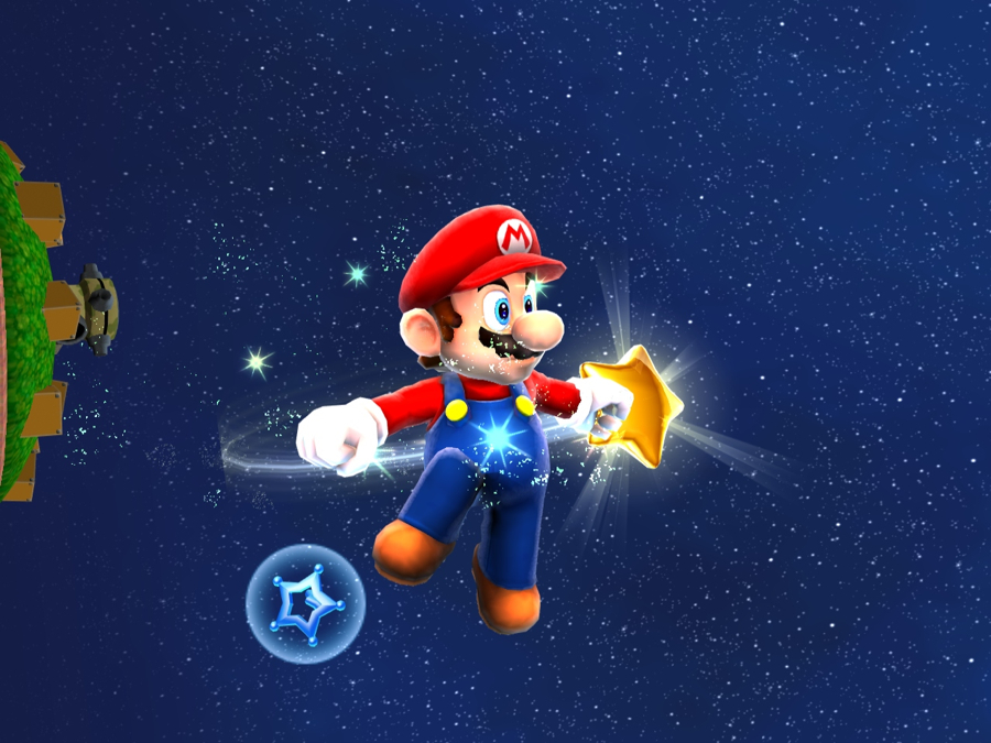 Mario Galaxy HD: Mario in Space