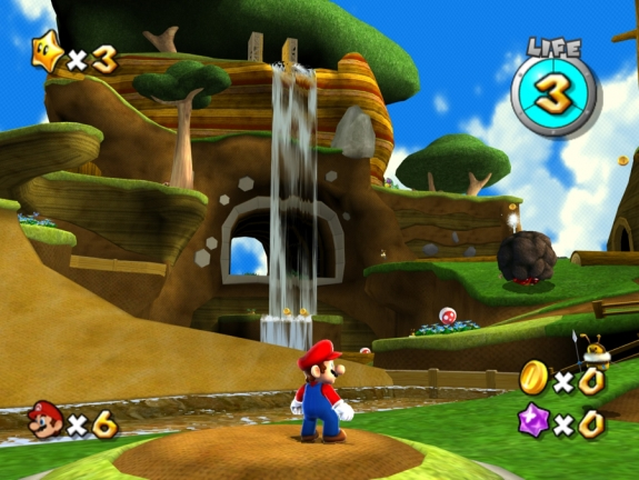 Mario Galaxy HD Concept