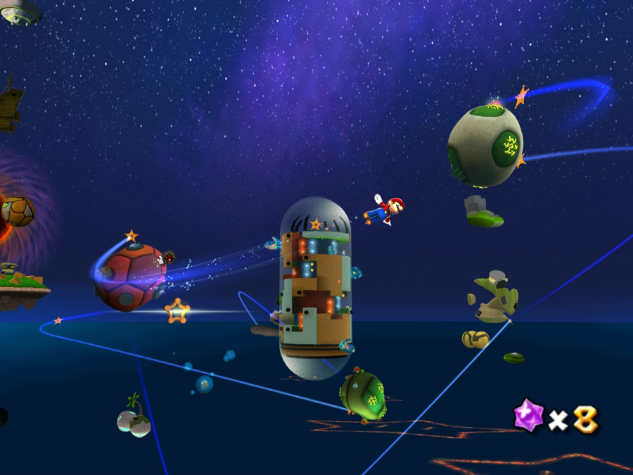 Mario Galaxy HD: Space