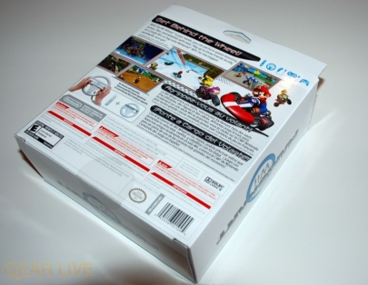 Mario Kart Wii Box Back