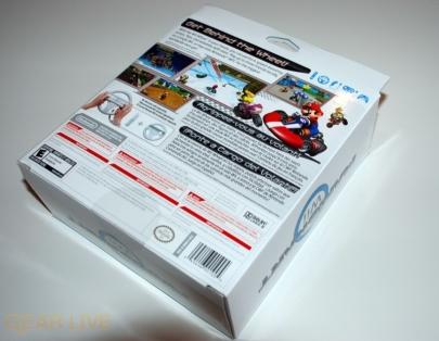 Mario Kart Wii Box Back
