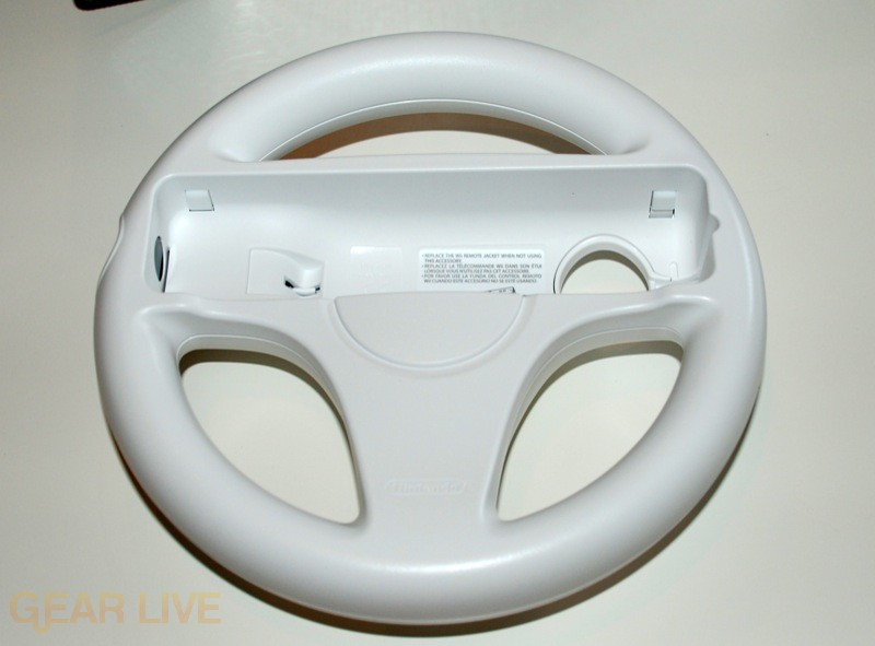 Wii Wheel Empty