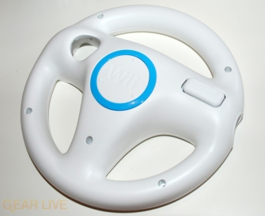 Wii Wheel rear close up