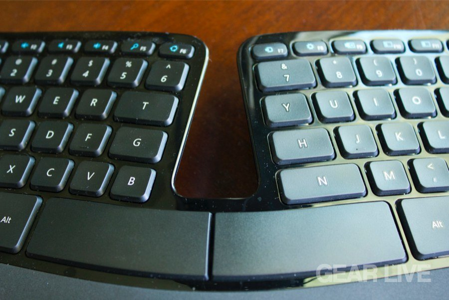 Microsoft Sculpt Ergonomic Desktop keyboard