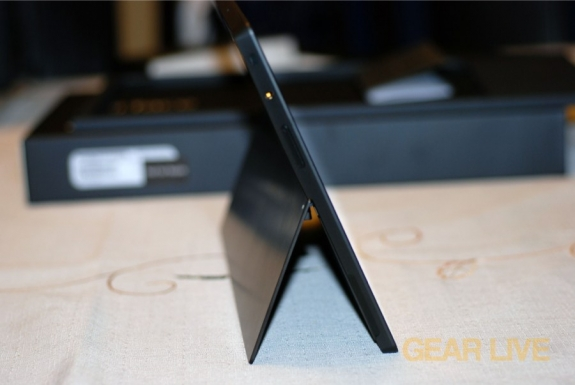 Microsoft Surface kickstand open