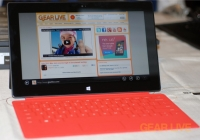 Microsoft Surface orange Touch Cover
