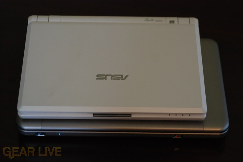 Eee PC on top of HP Mini-Note