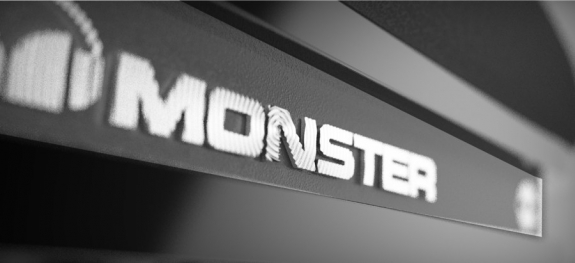 Monster Inspiration Hublot etched logo