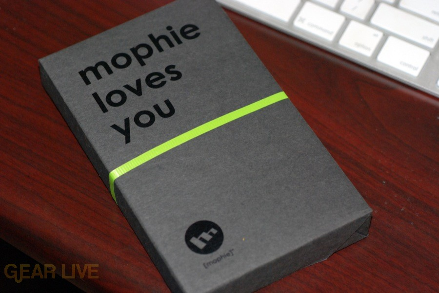 Mophie Juick Pack 3G wrapping