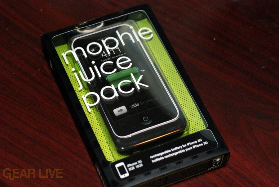 Mophie Juice Pack in box