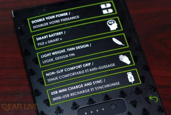 Mophie Juice Pack 3G stats