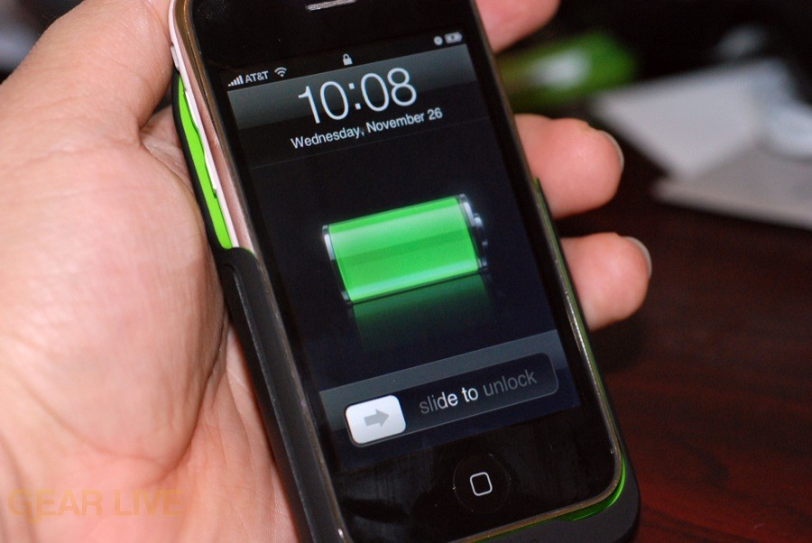 Mophie Juice Pack 3G charging iPhone