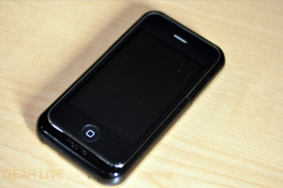 Mophie Juice Pack Air with iPhone front