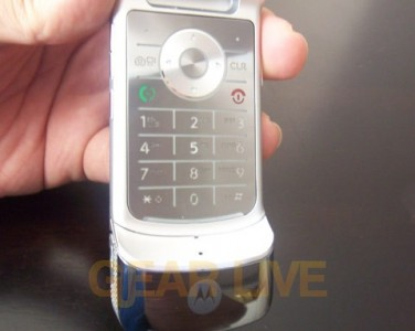 Motorola KRZR Keypad