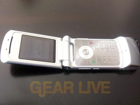 Open Motorola KRZR