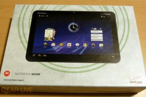 Motorola Xoom Box