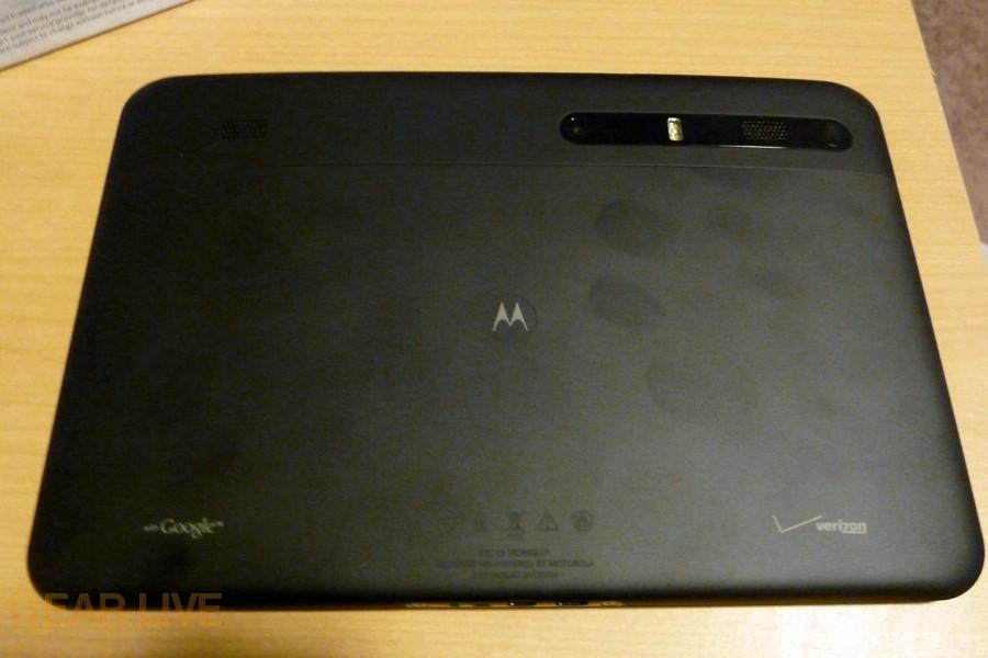 Motorola Xoom back