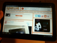 Motorola Xoom Chrome browser