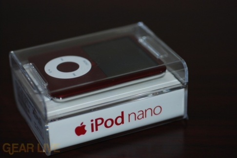 Another View of iPod nano in it's case