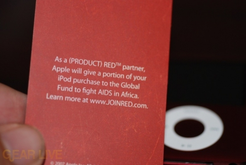 Details on what (PRODUCT) RED purchase means