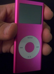 The 2G iPod nano