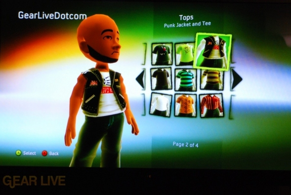 New Xbox Experience: Ridiculous avatar clothes