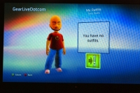 New Xbox Experience: Completed Avatar