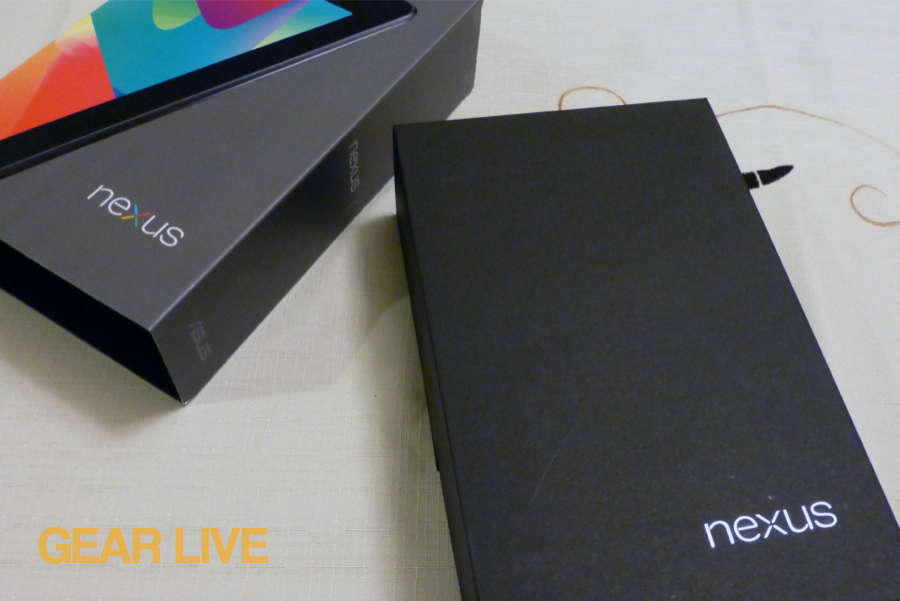 Nexus 7 inner box