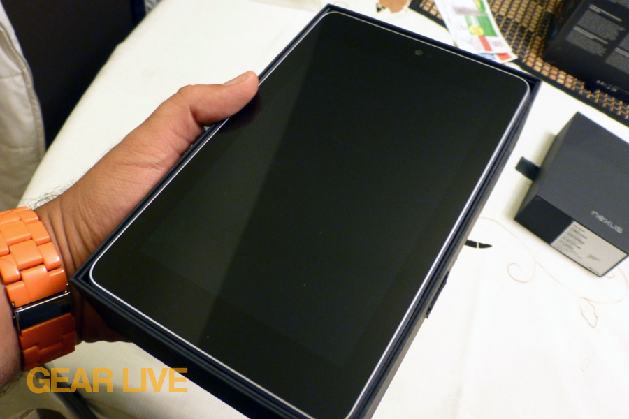 Nexus 7 tablet in box
