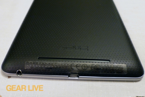 Nexus 7 rear speaker