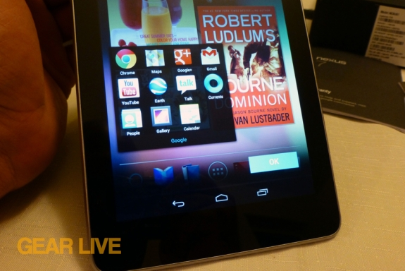 Nexus 7 Google Apps review
