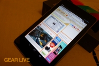 Google Nexus 7 tablet with Jelly Bean
