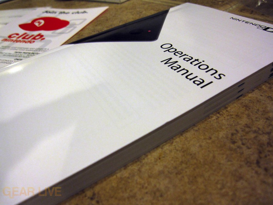 Nintendo DSi Operations Manual