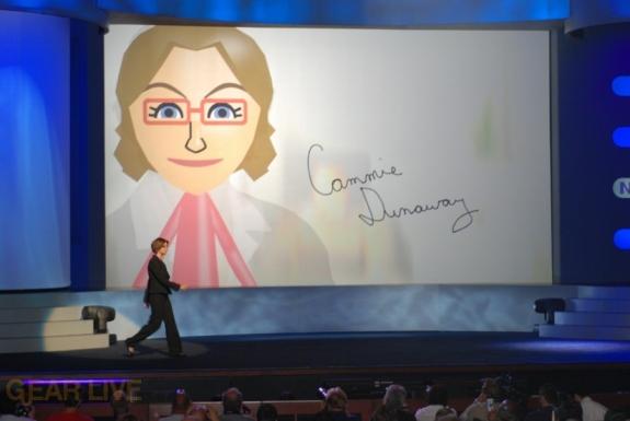 Nintendo E3 08: Cammie Dunaway enters