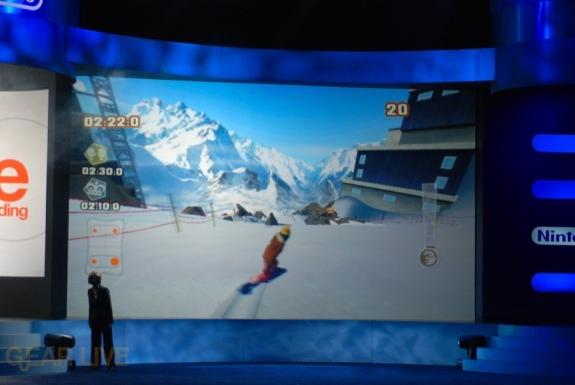 Nintendo E3 08: Shaun White Snowboarding screen 2