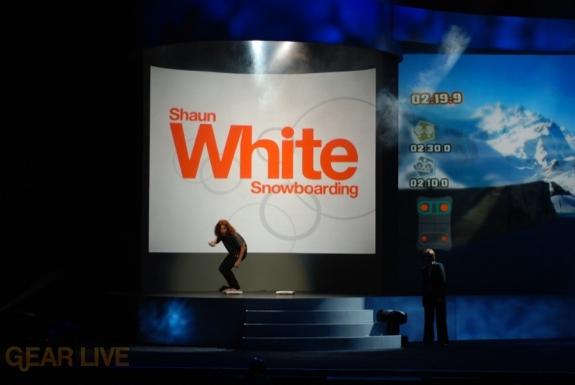 Nintendo E3 08: Shaun White Snowboarding